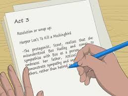 Menulis Ringkasan lot Cerita